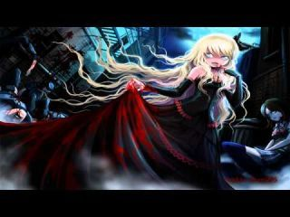 a girl from a nightcore song