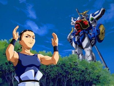 Chang Wufei from Gundam Wing