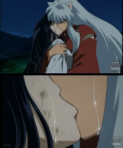 "Kikyo's death and inuyasha's halik for her!!!! ""to live is to die to die is to live good is evil, evil is good or is it?!"""