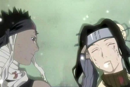 I Still cry when I watch this Naruto episode when Haku dies. I so wish he didn't die!!!