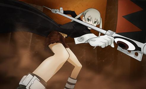 Maka from Soul Eater happens to be one of my crushes but I wouldn't say I'm in प्यार with her. But I have tons of other crushes as well.