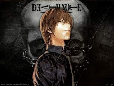 Yagami Light from Death Note :)