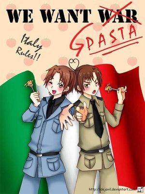 Italy and Romano from হেটালিয়া