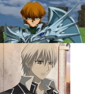 Christian Seto Rosenkreuz from the Yu-Gi-Oh Duelist of the ফুলেরসাজি video game and Zero from Vampire Knight. Mine!