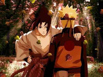 Sasuke Uchiha and নারুত Uzumaki!