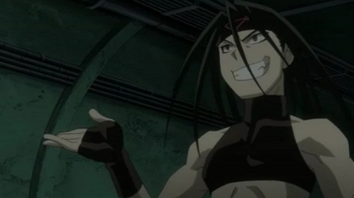 Envy, because he's awesome and a smexy beast! Also I'm going to protect him from the Meanie Mustang.