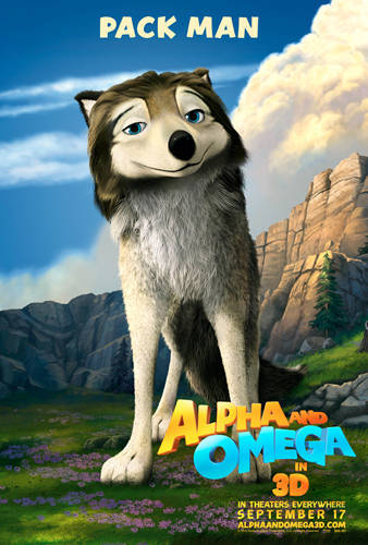 Humphrey from Alpha and Omega, I think He is SEXY and HOT XD
