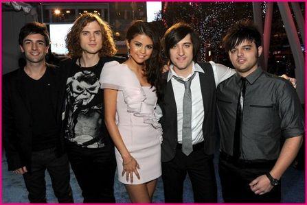 Selena Gomez & The scene and Paramore but i like selena plus