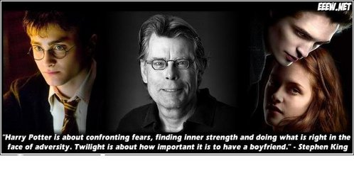 Yep. So would Stephen King