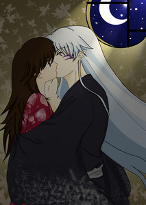 Rin and Sesshomaru from InuYasha! (When Rin gets older)