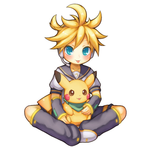 *Edit* I'm In upendo with Garuru, but I gotta say Len is cute!! No, I'm not In upendo with Len, I just alisema Len is cute.