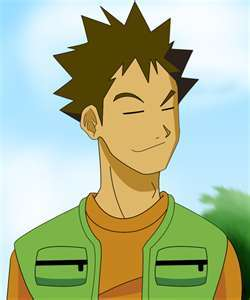 i think brock is cute.
