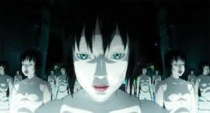 I was looking at জীবন্ত trailers and came accross ghost in the shell...the mechanical robot thing scared me...