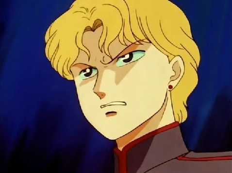 Jedite from Sailor Moon.