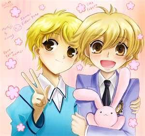 Momiji Sohma(left)& Honey-sempi (right) Fruits Basket & Ouran High School Host Club they r sooo cute >o<