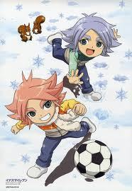 Shawn & Aiden Frost from Inazuma Eleven^^