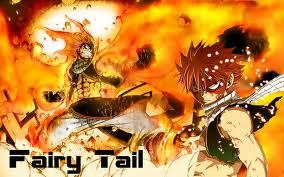 Natsu from fairy tail is very magical