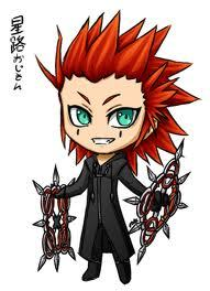 axel from kingdom hearts