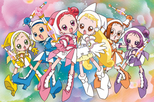 I found this...Magical DoReMi... ...They look so cuteeee <33