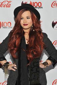 Demi wearing a hat :)