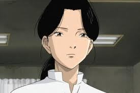 how about this doctor from MONSTER she has black hair