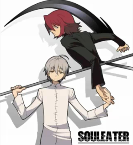 Stein and Spirit from Soul Eater.
