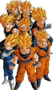 Lets not all forget গোকু and the other Super Saiyans