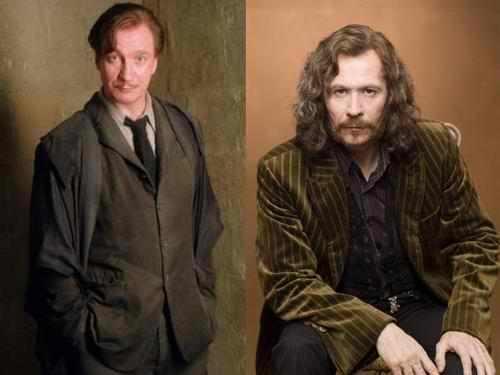 Remus Lupin and Sirius Black