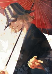 Urahara Kisuke *-* I amor him