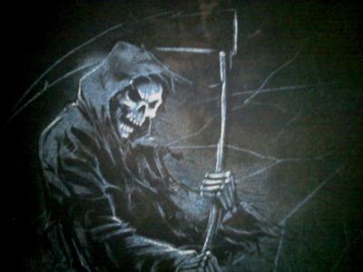 I see death.^_^