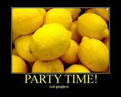 Lemons... *shudder*