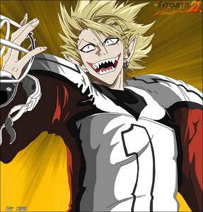 hiruma from eyeshield 21 freakin' apperence and personality
