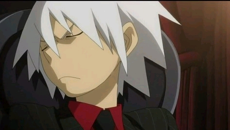 Soul from Soul Eater because he`s cool and hot at the same time.