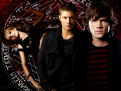 Supernatural, i'm so obsessed with this montrer atm i'm way behind, and i'm in the process of catching up. xD