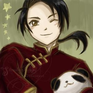 Currently my inayopendelewa is China, aka Wang Yao ^.^