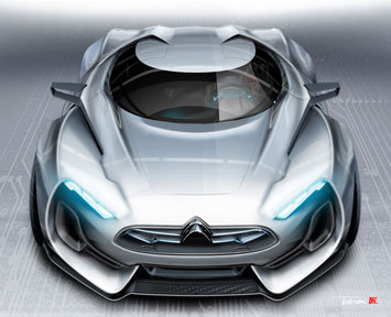 Concept art for the Citroen GT