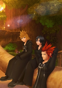 I agree that those three had Hearts, and Namine also. As for the rest, their Heartless were their Hearts, and they didn't have any extra's o people with Hearts to be around like these guys were around each other, so they really didn't have Hearts...