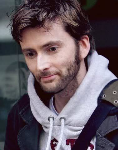 David Tennant. Because I amor him in Doctor Who, and, aside from my boyfriend, he's the sexiest man alive.