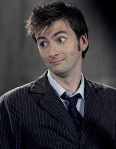 I was talking to my bf, but he had to go to bed, so now I'll just go back to finding David Tennant pictures. :P David thinks I'm weird, but he won't argue. xD