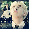 """motto:""""Wait 'til my father hears about this!"""" ~❤Draco Malfoy❤ icon:"""
