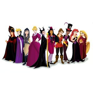 this is a updated pic of the princesses dressed up as villains (i hope you can see,its kinda small)