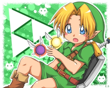 Link of course,but I also like Samus,Mario,and Sonic.