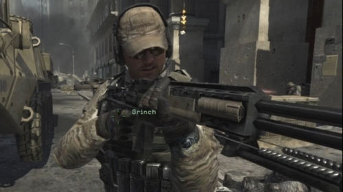 I'm constantly changing my answer to this soalan >_> But for now,it's got to be Grinch from Call of Duty: Modern Warfare 3,he's awesome :D