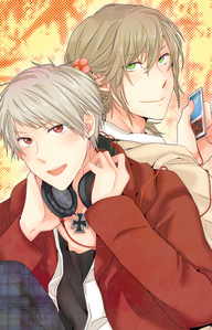 Liz and Prussia. And Yaoi. That involves Liz and Prussia. (Not mine)