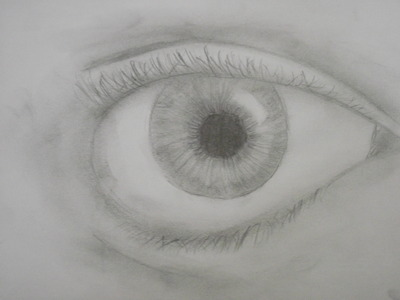 Keith Harkin, Eyes and ऐनीमे ppls :D! The picture is one of my early eyes... i know it's not very good