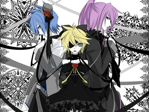 Len's dress in Imitation Black <33