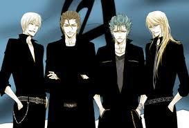 ارے their here is some guys with blue, blond and brown hair