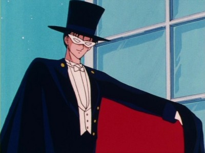 Tuxedo Mask. Face it. anda saw this coming a million miles away.