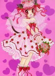 Ichigo's dress...
