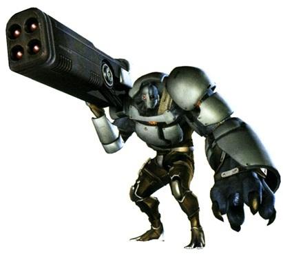 A Bio Organic Weapon.